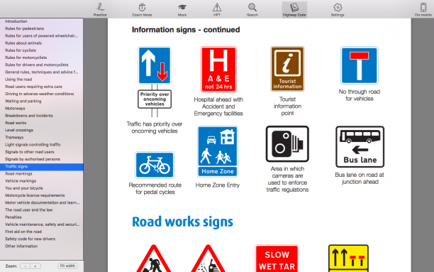 Theory Test for Car Drivers - desktopmac8
