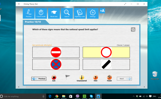 Theory Test for Car Drivers - desktoppc9